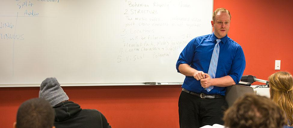 Outstanding Academic Advisor - Nick Kuiper