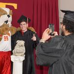 THE SPRING GRAD FAIR OFFERED A ONE-STOP SHOP FOR NEW GRADUATES.