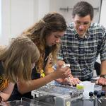 HIGH SCHOOL STUDENTS EXCELLED AT THE BIOTECHNOLOGY SUMMER EXPERIENCE CAMP.