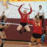 BULLDOG VOLLEYBALL WON THE GLIAC CHAMPIONSHIP AND HOSTED THE NCAA II MIDWEST REGIONAL CHAMPIONSHIPS.