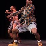 THE STUDENT CHAPTER OF THE NAACP PRESENTED ITS ANNUAL TALENT SHOW.