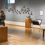 THE ALL ABOUT THE VINYL EXHIBIT WAS FEATURED DURING THE OPENING OF THE FESTIVAL OF THE ARTS.