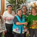 THE STAFF AT THE QUAD CAFE ENJOYED SOME HOLIDAY FUN WITH AN UGLY SWEATER CONTEST.