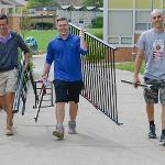 STUDENTS MOVED INTO THEIR RESIDENCE HALLS FOR THE START OF FALL SEMESTER.