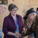 FERRIS HOSTED 62 VETERANS AND THE MID-MICHIGAN CHAPTER OF THE HONOR FLIGHT.