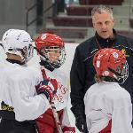 SPORTS CAMPS ARE IN FULL SWING ON THE FERRIS STATE CAMPUS.