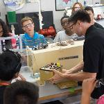 CAMPERS LEARNED HOW A PRODUCT IS DEVELOPED FROM AN IDEA INTO A REALITY.