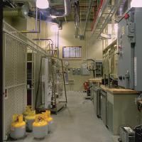gas teaching space