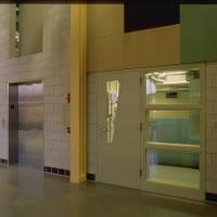 Interior Stairwell & elevator door