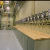 electrical teaching space