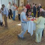 THE PROVOST'S OFFICE HOSTED A NEW FACULTY BREAKFAST AT THE UNIVERSITY CENTER.