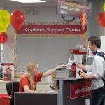 THE ACADEMIC SUPPORT CENTER HELD ITS OPEN HOUSE.