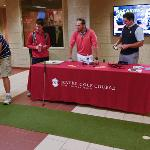 PROFESSIONAL GOLF MANAGEMENT IS A POPULAR MAJOR IN THE COLLEGE OF BUSINESS.