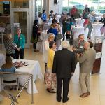 ACADEMIC AFFAIRS HOSTED A RECEPTION FOR NEW FACULTY.