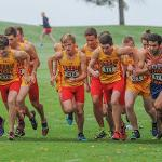 MEN'S CROSS COUNTRY PLACED FIRST AT THE INVITATIONAL