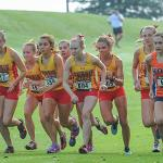 WOMEN'S CROSS COUNTRY PLACED SECOND AT THE INVITATIONAL.