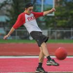 THE HOMECOMING KICKBALL TOURNAMENT WAS HELD AT TOP TAGGART FIELD.