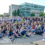 THE SELECTION PROCESS FOR NEW SORORITY SISTERS FILLED THE CAMPUS QUAD.