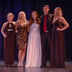 THE HOMECOMING ROYALTY TOOK A BOW AT THE LIP SYNC EVENT.