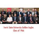 THE GOLDEN EAGLES CLASS OF 1966 WAS HONORED AT FALL REUNION.