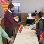 INTERNSHIPS, RESEARCH OPPORTUNITIES AND CAREER OPTIONS WERE DISCUSSED AT THE EXPO.