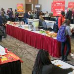 A MULTITUDE OF ACADEMIC AND STUDY ABROAD PROGRAMS WERE SHOWCASED.