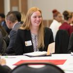 HOSPITALITY MANAGEMENT STUDENTS HOSTED A MINI-CONFERENCE.