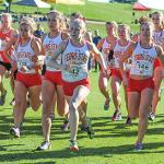 BULLDOG CROSS COUNTRY HOSTED THE GLIAC MEN'S AND WOMEN'S CHAMPIONSHIPS.