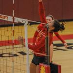 FSU VOLLEYBALL ROLLED OVER MICHIGAN TECH, NORTHERN MICHIGAN AND GRAND VALLEY.