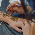THE EVENT INCLUDED FREE INDIAN FOOD, HENNA ART, SAND ART AND MUSIC.