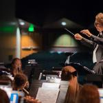 SCENES FROM THE FSU SYMPHONY BAND FALL CONCERT.