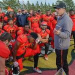 COACH TONY ANNESE AND THE BULLDOGS WILL HOST AN NCAA II PLAYOFF GAME (NOV. 19) AGAINST MIDWESTERN STATE (TEXAS).