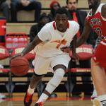 BULLDOG MEN'S BASKETBALL REMAINED UNDEFEATED WITH AN 84-72 WIN OVER LEWIS.