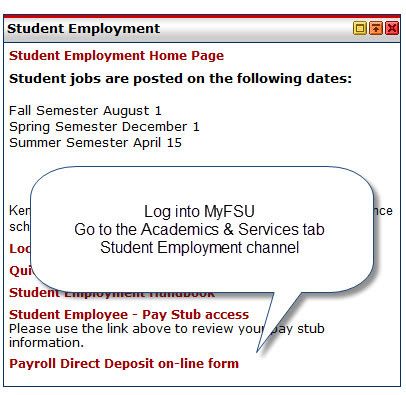Image of Student Employment Channel