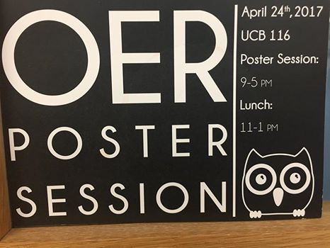OER poster session