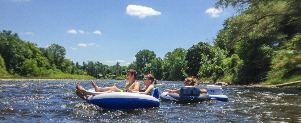 Tubing in Big Rapids