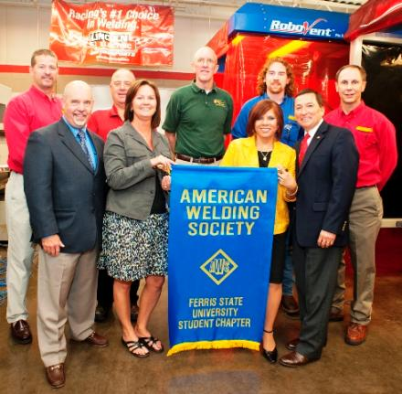 American Welding Society President Visits Ferris State University
