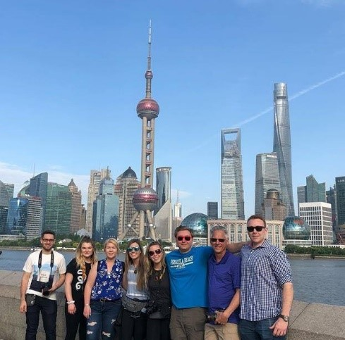 Ferris students in China