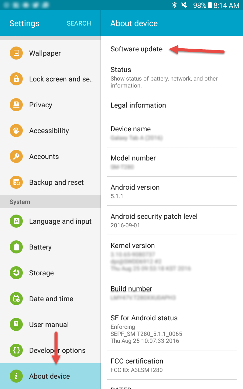 How to Update your Android System