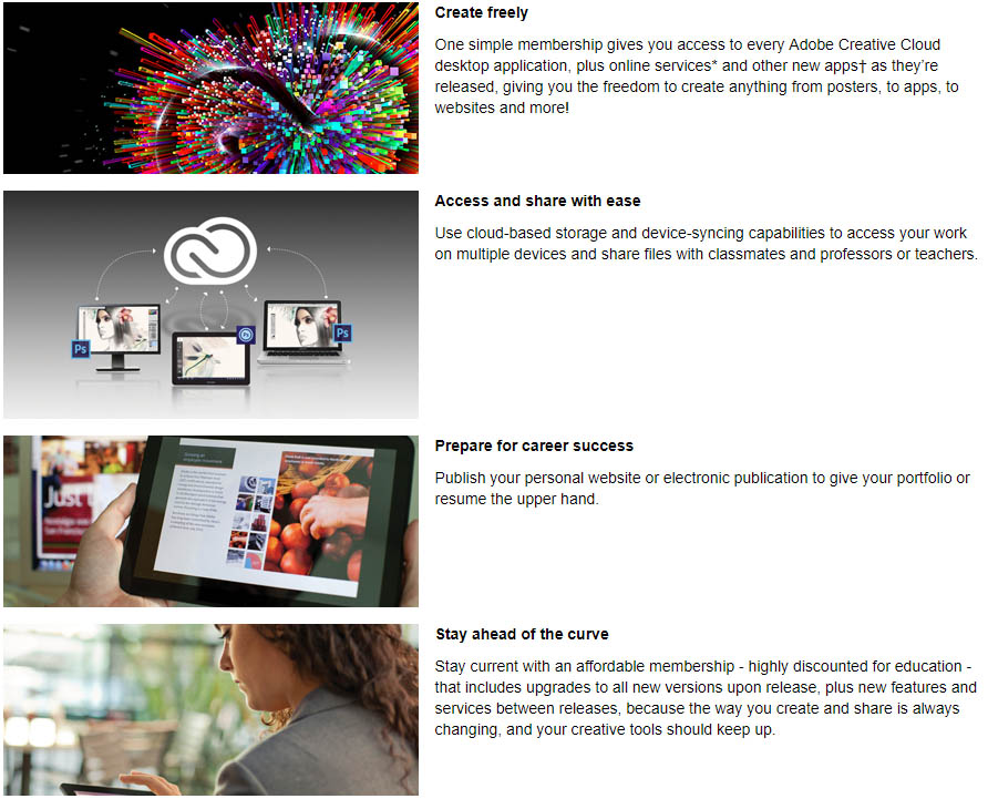 Adobe Creative Cloud for Students - Ferris State University