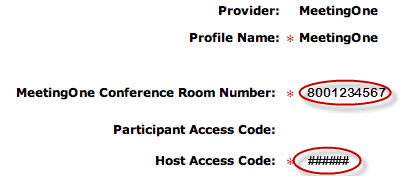 How to Find Your MeetingOne 800# and Host Code