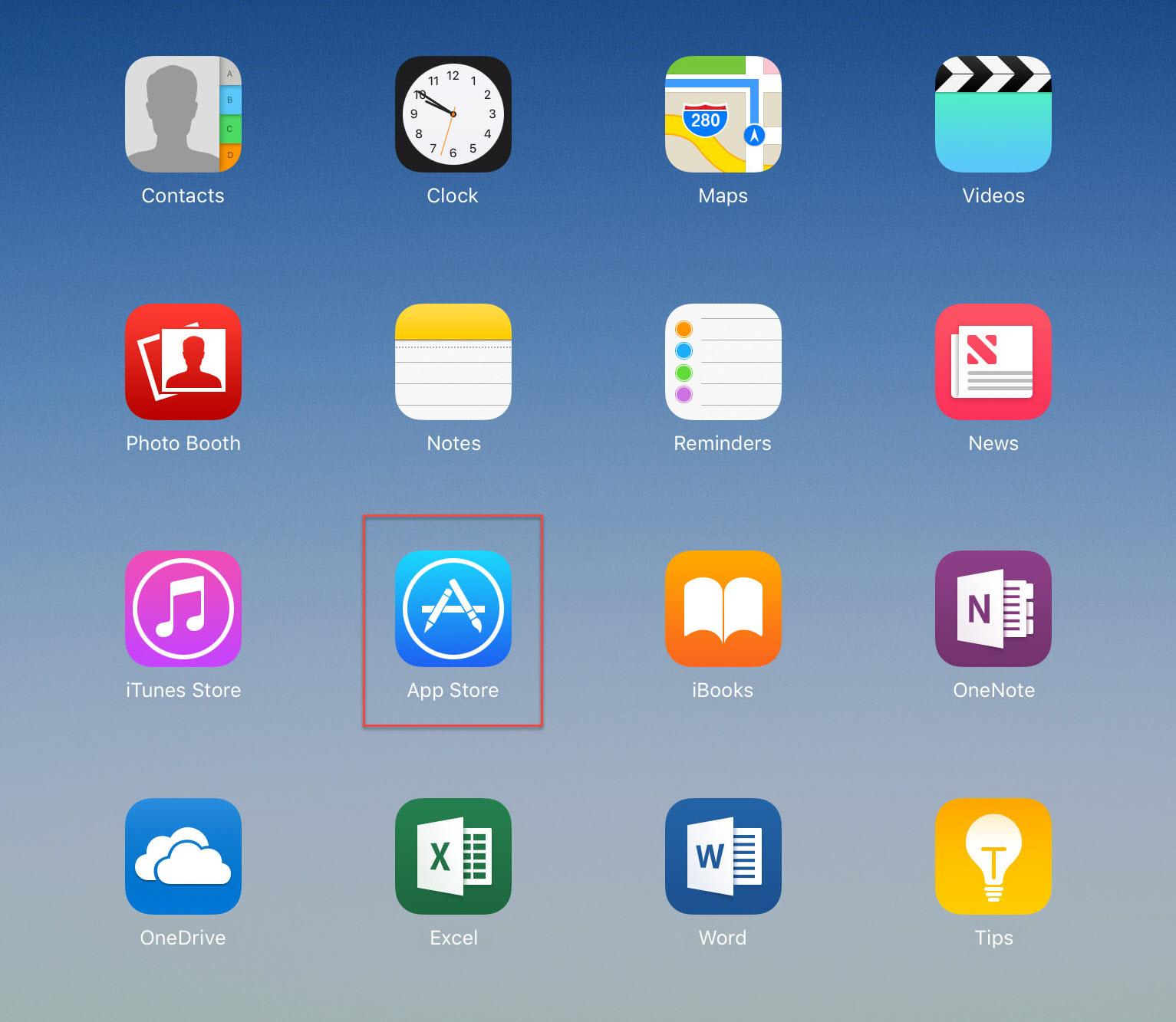 Downloading Blackboard Mobile Learn App on iPad or iPhone - Ferris on ios store, windows 8 store, map search, google store, map google, map app talk, iphone store, map my walk app, map bing, map weather, map design, map pins app,
