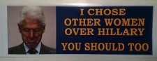 Bill Clinton Bumper Sticker