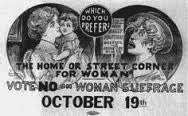 Vote No on Suffrage poster