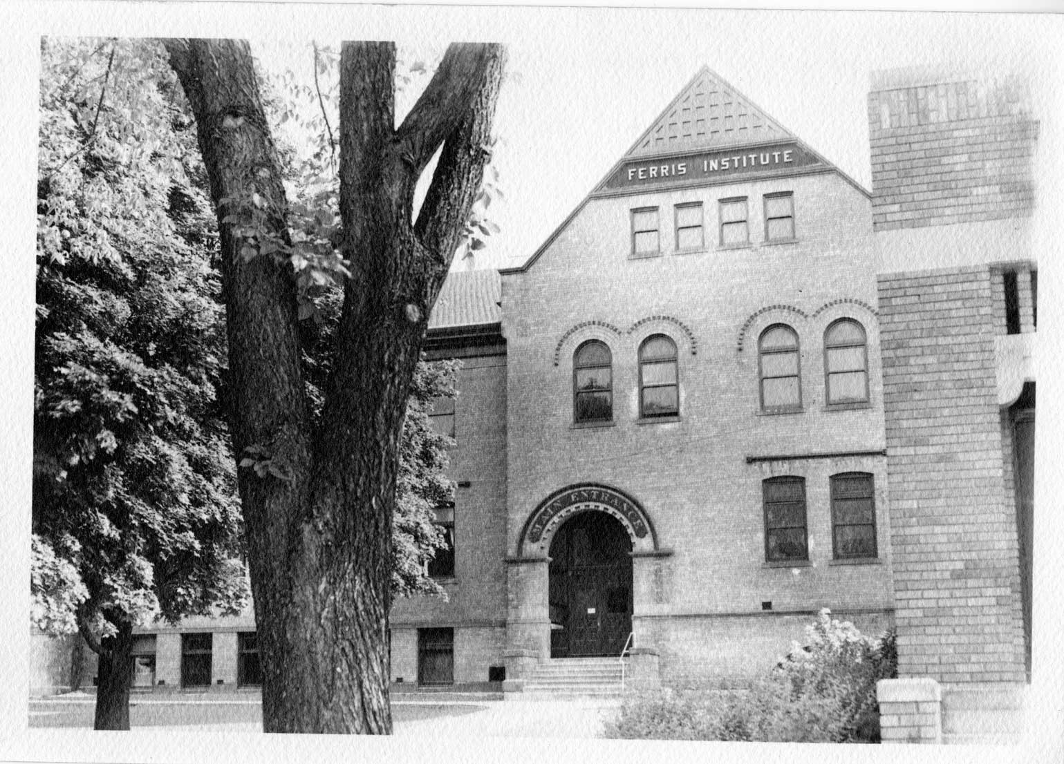 Old Main building in early 1930's